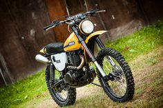 Not So Mellow Yellow: North East Customs' stunning Yamaha XT500 resto-mod.