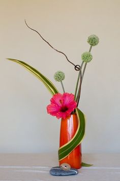 Arte floral Japonés. Ikebana