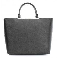 wardow.com - #bag #trend #blackandwhite #KarlLagerfeld Choupette at the beach Shopper Saffiano Rindsleder schwarz
