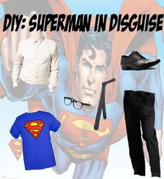 K6 - DIY Superman Costume . I just need to make the cape !