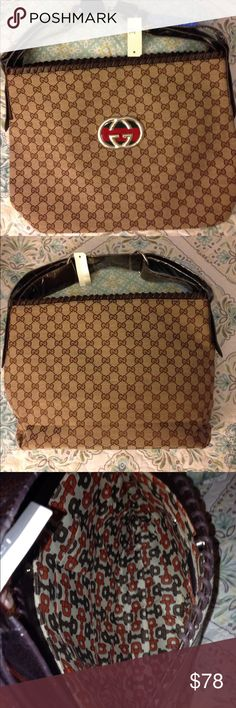 """✨🎀 NWT Beautiful Large Handbag🎀✨ ✨🎀 NWT Beautiful Large Designer Inspired Handbag🎀✨ H: 13"""", W: 17.5"""", D: 4.25"""". Patterned Cloth Interior, Non-Adjustable Handle, Faux Silver Details, Thick Denim Style Textured Material.✨🎀 Bags Satchels"""