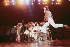 Pete Townshend Jumping on Stage, ca. 1970s