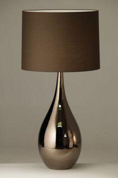Ros tafellamp bronze van Verlichtingen