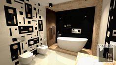 Nowoczesna łazienka aranżacja, łazienka w lofcie