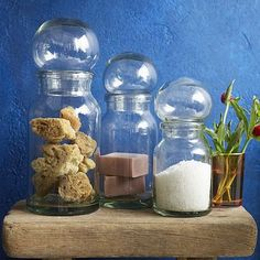 Bubble Canisters #WestElm