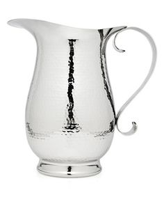Another great find on #zulily! Hammered Stainless Steel Pitcher #zulilyfinds