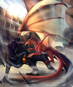 http://juliagoldfox.deviantart.com/art/The-arena-678194514