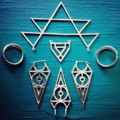 Sacred Geometry Jewelry in progress