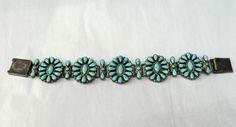 Zuni Indian Petit Point Bracelet Vintage American by griffincat, $895.00