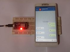 In this project will control an LED using with telegram bot. By adding R… In this project will control an LED using with telegram bot. By adding Relay, TRIAC etc. you can make it a complete home automation IoT project. Esp8266 Projects, Simple Arduino Projects, Home Automation Project, Home Automation System, Wifi Names, Wifi Connect, Wifi Password, Circuit Diagram, Useful Life Hacks