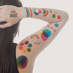 Designer Temporary Tattoos. My girl will love these!