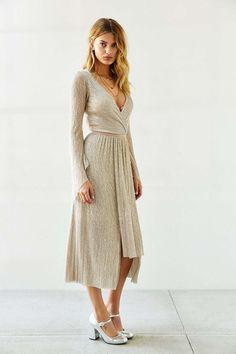 Bec & Bridge Gold Dust Maxi Dress