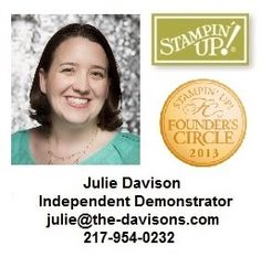 Julie's Stamping Spot- SU stamp blog