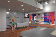 Gli spazi prendono forma grazie al #rendering #3D. #interiordesign #design
