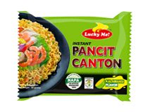 Lucky Me! Pancit Canton Kalamansi Experience the zing of kalamansi (Philippine lime) with every bite of the most-loved Pancit Canton.