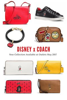 Disney x Coach is my new obsession and I can never buy anything hahaha #coach #disneystyle #disneyxcoach