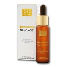 Isis Pharma Nano Age Anti Aging Treatment Serum Whit Hyaluronic Acid Beauty Product *** Check out the image by visiting the link. (This is an affiliate link) Serum Anti Age, Best Serum, Anti Aging Treatments, Facial Oil, Hyaluronic Acid, Active Ingredient, Moisturizer, Personal Care, Skin Care