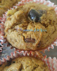 Chickpea and blueberry #muffin #hummingbirdpcs #vegan #baking
