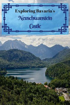 Exploring the beautiful Neuschwanstein Castle in Bavaria, Germany.