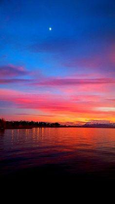 *isa** Beautiful Sunset, Beautiful Places, Framed Wallpaper, Iphone Wallpaper, Sun Aesthetic, Fantastic Art, Amazing, Pretty Sky, Dusk To Dawn