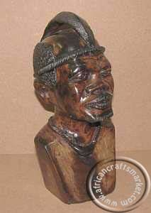 An African handcrafted stone bust of a Shona woman from Zimbawe. The Shona bust is carved from local sopastone with realistic feathure and set in the natural color of the stone Royal Lineage, Heart Piercing, Hand Carved, Sculptures, Carving, African, Iron, Statue, Female