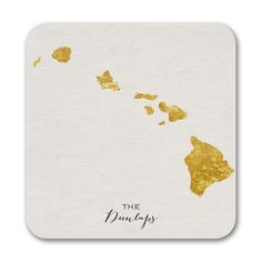 Bright State - Coasters - Hawaii. Available at Persnickety Invitation Studio.