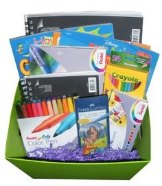 Creative Kids LEARN TO DRAW Premium Gift Basket - Perfect for Get Well, Birthday, Easter, or Other Occasion by Artistix Designs Gift Baskets. $299.95. This basket is best suited for boys or girls ages 4 and older (depending on your child's artistic skills!). Custom Made Gift Baskets by Artistix Designs has created this awesome LEARN TO DRAW Gift Basket packed with EVERYTHING you need to learn to draw!  (See Product Description below for exact details of what you w...