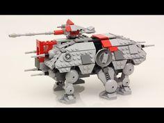 TechnicBRICKs: Week TechVideo, 2015 #35 - Motorized Micro Scale LEGO AT-TE