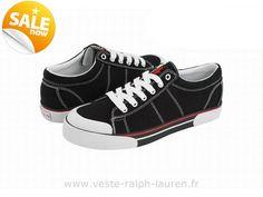 7bb46ed9fb2047 officiel 2015 discount Ralph Lauren chaussures hommes sold prl borland 0057 noir  Polo Lacoste Femme