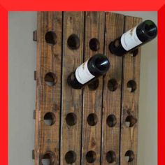 wine bottle rack.