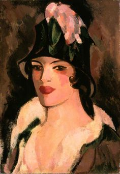 John Duncan Fergusson (Scottish, 1874–1961) - At Gows, 1925
