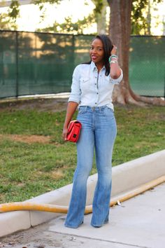 NuSophisticate: Flared Jeans