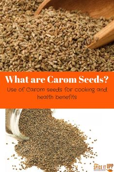 This post is a comprehensive and easy guide listing some of the health benefits of using carom seeds. There are tips on how to add carom seeds to dishes and benefit for the goodness of this healthy Indian spice. Indian Spice Box, Food For Immune System, List Of Spices, Spice Combinations, Easy Indian Recipes, Caraway Seeds, Alternative Health, How To Dry Basil