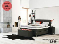 Ambassadør Kontinental 150x200 - Jensen seng  Sengen er det viktigste møbelet du har. Med Casakort kan du få Jensen-sengen du drømmer om.