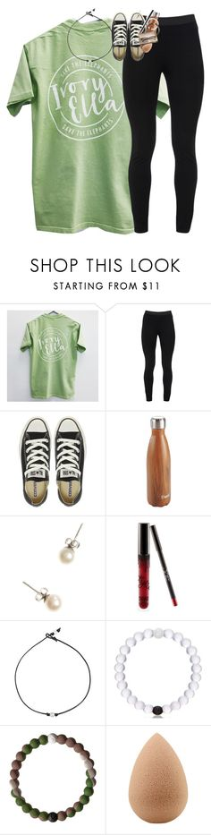 """""""I got my nails done yesterday! check the items"""" by classynsouthern ❤ liked on Polyvore featuring Peace of Cloth, Converse, Title Nine, J.Crew, Kylie Cosmetics and beautyblender"""