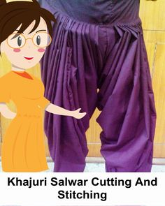 Khajuri Salwar Cutting And Stitching - Tailoring With Usha