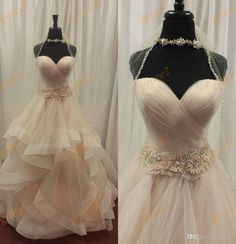 Tiered Skirt Wedding Dresses 2017 with Sweetheart Neckline And Free Veil Real Pictures Pleated Ruffles Tulle Ball Gown Vestido De Noiva Wedding Dress 2017 Vestido De Noiva Robe De Mariage Online with $194.29/Piece on Grace2's Store   DHgate.com