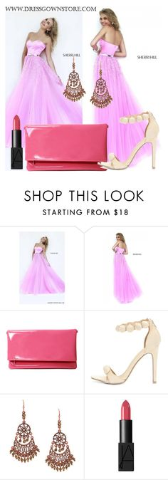 """Dressgownstore 27"" by mary0508 ❤ liked on Polyvore featuring Sherri Hill, 1928, NARS Cosmetics, women's clothing, women, female, woman, misses and juniors"