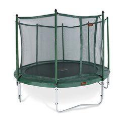 Jumpfree 4,3m trampoliinipaketti sopii loistavasti koko perheen trampoliiniksi! Paketissa laadukas trampoliini sekä tukeva turvaverkko. Tutustu!