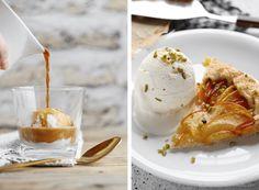 fior di latte – italienisches milcheis | around the world Parfait, Latte, Panna Cotta, Ice Cream, Ethnic Recipes, Easy, Desserts, Food, Simple