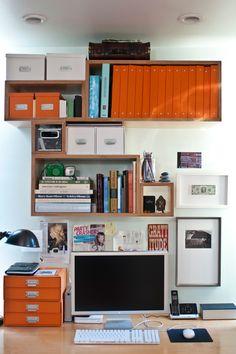 Sophia Bush's organized desk
