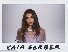 Cindy Crawford's daughter Kaia set to star in Alexander Wang campaign | Daily Mail Online