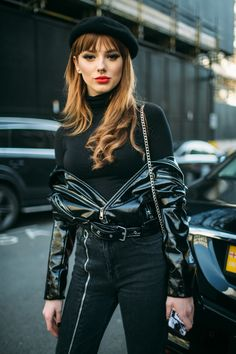 Street style at London Fashion Week Fall 2018 KUBA DABROWSKI/WWD