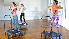 Booya Fitness | The Trampoline Series: Upper Body & Cardio