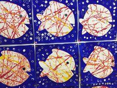Nos arts plastiques sur la mer. - Ecole maternelle Jean Macé Brest Craft Activities For Kids, Summer Activities, Preschool Crafts, School Art Projects, Projects For Kids, Under The Sea Crafts, Ocean Crafts, Arts And Crafts, Paper Crafts