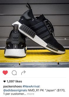 adidas NMD Primeknit Japan Releasing in the USA - Adidas Nmds - Ideas of Adidas Nmds - adidas NMD Primeknit Japan Releasing in the USA EU Kicks: Sneaker Magazine Adidas Nmds, Adidas Shoes, Adidas Women, Black Adidas, Me Too Shoes, Men's Shoes, Shoe Boots, Shoes Sneakers, Best Sneakers