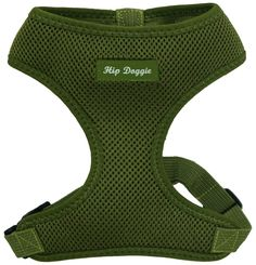 Hip Doggie Ultra Comfort Olive Green Mesh Harness Vest, XX-Large -- Unbelievable dog item right here! : Harnesses for dogs