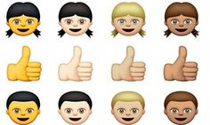 Apple's new emojis.