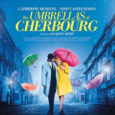 At the Alliance Française Dublin, we continue our #French #NewWave #season focusing on #sound with Jacques Demy's #musical #masterpiece☂️Les Parapluies de Cherbourg☂️tomorrow at 6.30pm – #Free booking. Jacques Demy, Anne Vernon, Umbrellas Of Cherbourg, New Wave, Catherine Deneuve, France, Dublin, Film, Movies