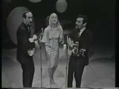 If I Had A Hammer - Peter, Paul & Mary, 1962 - written by Pete Seeger & Lee Hays in 1949, who were both part of the Left wing, socially progressive movement. Indeed, Seeger premiered it at a benefit for the Communist Party of the USA.